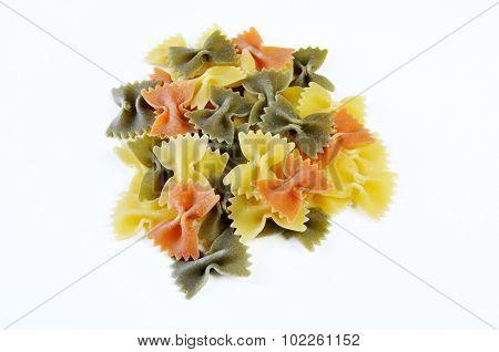 Heap Of Farfalle Pasta