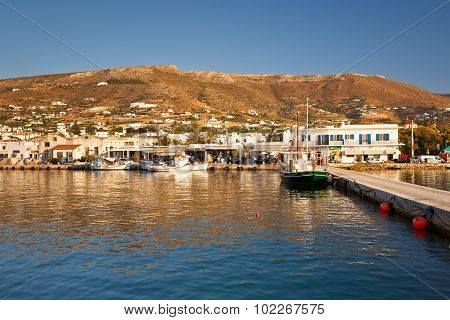 Parikia on Paros island.