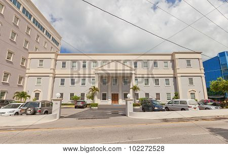 Clifton House In George Town Of Grand Cayman Island