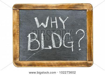 Why Blog Fr