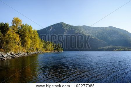 Yenisei In September.
