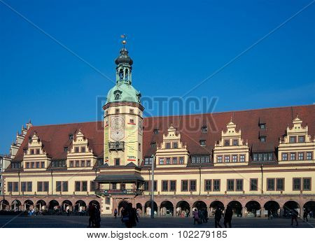 Old Town Hall, Leipzig, Germany