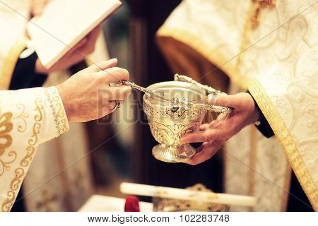 Priests With Bowl