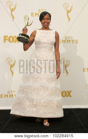 LOS ANGELES - SEP 20:  Regina King at the Primetime Emmy Awards Press Room at the Microsoft Theater on September 20, 2015 in Los Angeles, CA