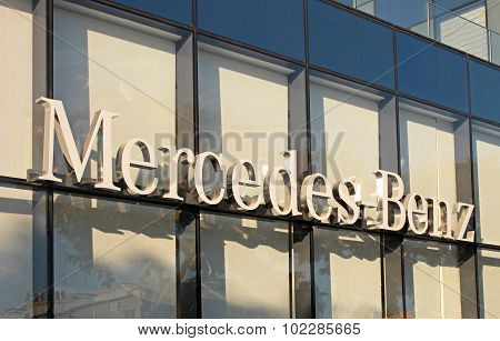 Mercedes-benz Dealership Logo