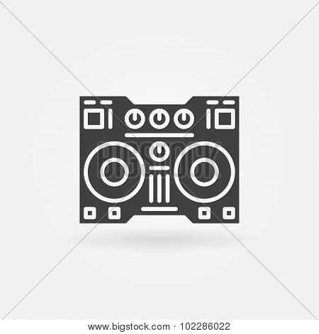 Digital DJ controller icon