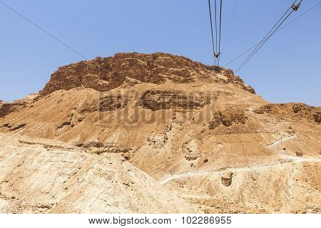 Cables To The Masada Plateau