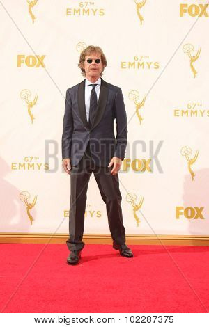 LOS ANGELES - SEP 20:  William H Macy at the Primetime Emmy Awards Arrivals at the Microsoft Theater on September 20, 2015 in Los Angeles, CA