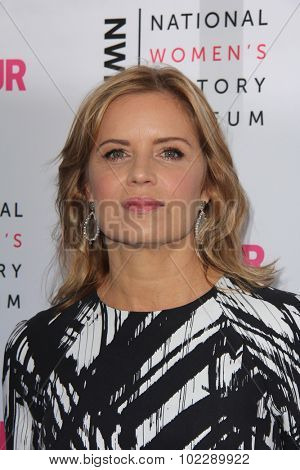 Kym JohnsonLOS ANGELES - SEP 19:  Kim Dickens at the 4th Annual Women Making History Brunch at the Skiirball Cultural Center on September 19, 2015 in Los Angeles, CA