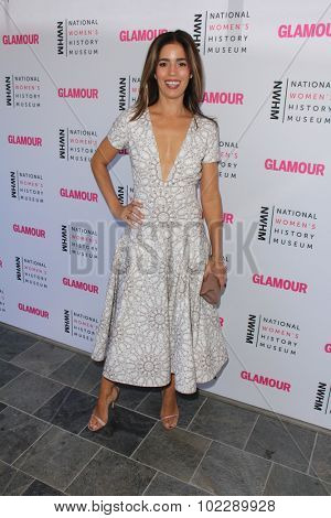 Kym JohnsonLOS ANGELES - SEP 19:  Ana Ortiz at the 4th Annual Women Making History Brunch at the Skiirball Cultural Center on September 19, 2015 in Los Angeles, CA