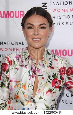 LOS ANGELES - SEP 19:  Serinda Swan at the 4th Annual Women Making History Brunch at the Skiirball Cultural Center on September 19, 2015 in Los Angeles, CA