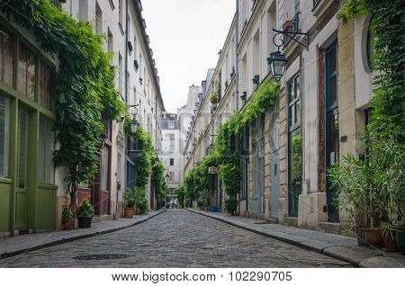 Cour Damoye is an attractive residential street in Paris