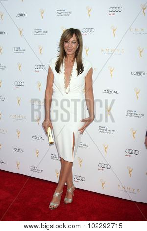 LOS ANGELES - SEP 19:  Allison Janney at the 67th Emmy Awards Performers Nominee Reception at the Pacific Design Center on September 19, 2015 in West Hollywood, CA