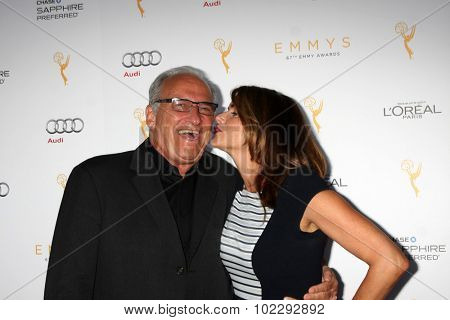 LOS ANGELES - SEP 19:  John Landecker, Amy Landecker at the 67th Emmy Awards Performers Nominee Reception at the Pacific Design Center on September 19, 2015 in West Hollywood, CA