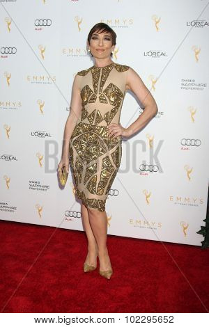 LOS ANGELES - SEP 19:  Naomi Grossman at the 67th Emmy Awards Performers Nominee Reception at the Pacific Design Center on September 19, 2015 in West Hollywood, CA