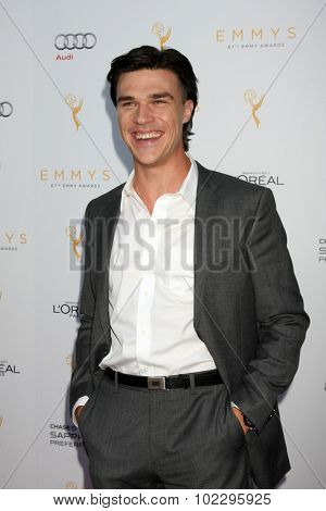 LOS ANGELES - SEP 19:  Finn Wittrock at the 67th Emmy Awards Performers Nominee Reception at the Pacific Design Center on September 19, 2015 in West Hollywood, CA