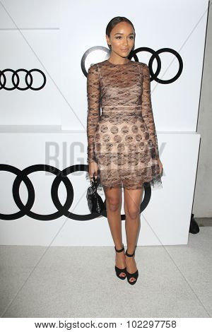 LOS ANGELES - SEP 17:  Ashley Madekwe at the Audi Celebrates Emmys Week 2015 at the Cecconi's on September 17, 2015 in West Hollywood, CA