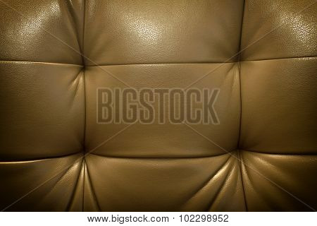Quality Brown Leather Texture Vignetting