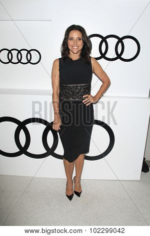 LOS ANGELES - SEP 17:  Julia Louis-Dreyfus at the Audi Celebrates Emmys Week 2015 at the Cecconi's on September 17, 2015 in West Hollywood, CA