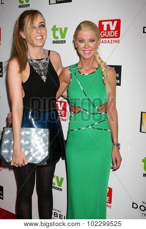 LOS ANGELES - SEP 18:  Marina Monroe, Tara Reid at the TV Industry Advocacy Awards Gala at the Sunset Tower Hotel on September 18, 2015 in West Hollywood, CA