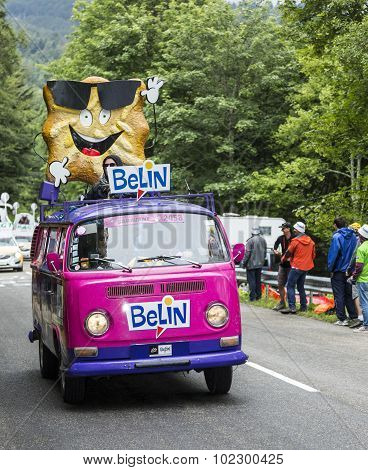 Belin Vehicle In Vosges Mountains - Tour De France 2014