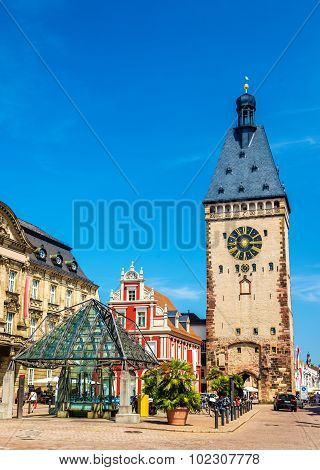 The Old Gate Of Speyer - Germany, Rhineland-palatinate