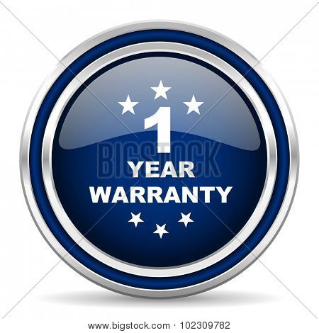 warranty guarantee 1 year icon