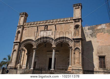 Santa Maria Della Catena In Palermo, Sicily.