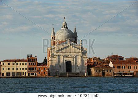 Redentore Basilica at dawn
