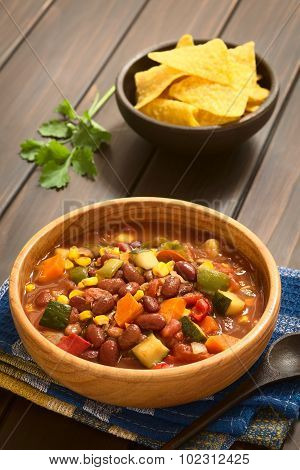 Vegetarian Chili Dish