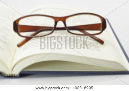 Book And Glasses - Conceptual