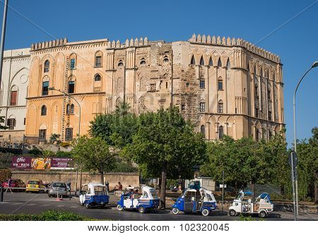 The Normans Royal Palace Of Palermo. Sicily, Italy.