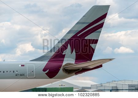 Qatar Airways Airbus A330 Tail