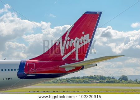Virgin Atlantic Airways Airbus A340 Tail