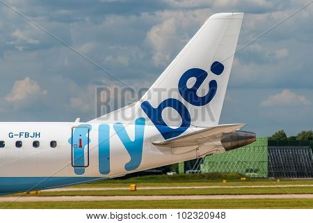 Flybe Embraer Erj-175 Tail