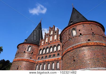 Holstentor, Lubeck