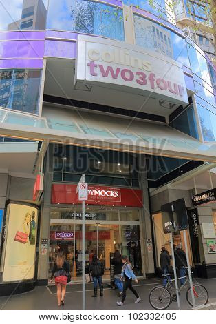 Melbourne shopping mall Australia
