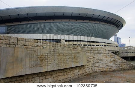 Katowice, Poland - September 18, 2015: Sports Hall Spodek On 18