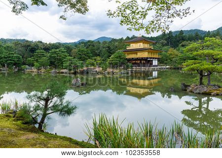 Golden Pavilion in Kyoto - Japan
