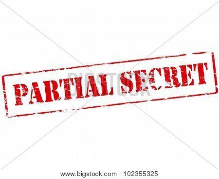 Partial Secret