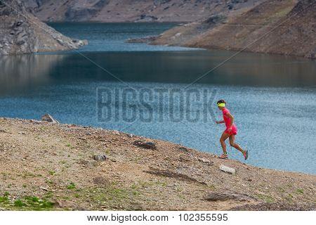 Irl Runs Alone Among Alpine Lakes