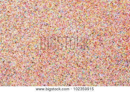 Colorful quartz sand wall coating