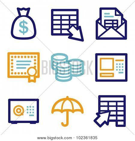 Banking web icons2