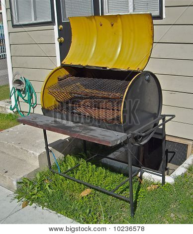 fifty gallon grill