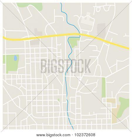 City Map Illustration