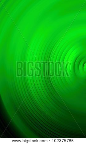 Abstract Green Background Of Colorful Spin Radial Motion Blur