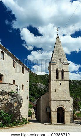 Monastery Ostrog, Montenegro, Balkans