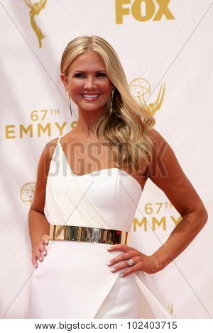 LOS ANGELES - SEP 20:  Nancy O'Dell at the Primetime Emmy Awards Arrivals at the Microsoft Theater on September 20, 2015 in Los Angeles, CA