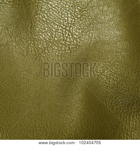 gold artificial leather