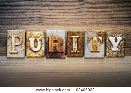 Purity Concept Letterpress Theme